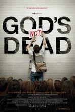 Plakat filmu Bóg nie umarł