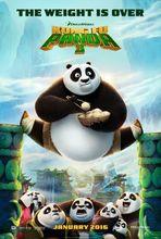 Plakat filmu Kung Fu Panda 3