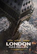 Plakat filmu Londyn w ogniu