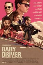 Plakat filmu Baby driver