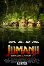 Movie poster Jumanji: Przygoda w dżungli