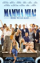 Plakat filmu Mamma Mia: Here We Go Again!