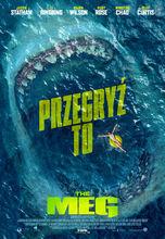 Plakat filmu The Meg