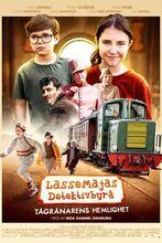 Plakat filmu Biuro detektywistyczne Lassego i Mai. Rabuś z pociągu