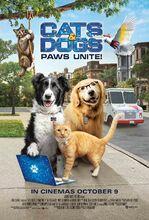 Plakat filmu Psy i koty 3: łapa w łapę
