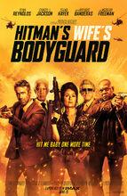 Movie poster Bodyguard i żona zawodowca