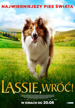 Movie poster Lassie, wróć!